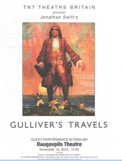 D. Swifta GULLIVER'S TRAVELS